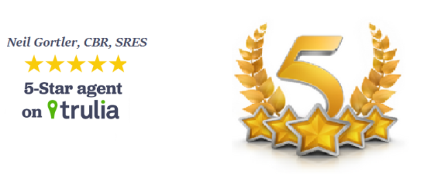 Exceptional Service Wins Neil a 5 Star Rating on Trulia!